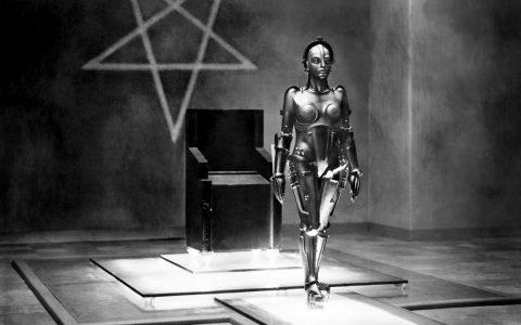 Prod DB © UFA / DRMETROPOLIS (METROPOLIS) de Fritz Lang 1926 ALLavec Brigitte Helmclassique, science fiction, anticipation, robot, androide, pentacled'après le roman de Thea Von Harbou