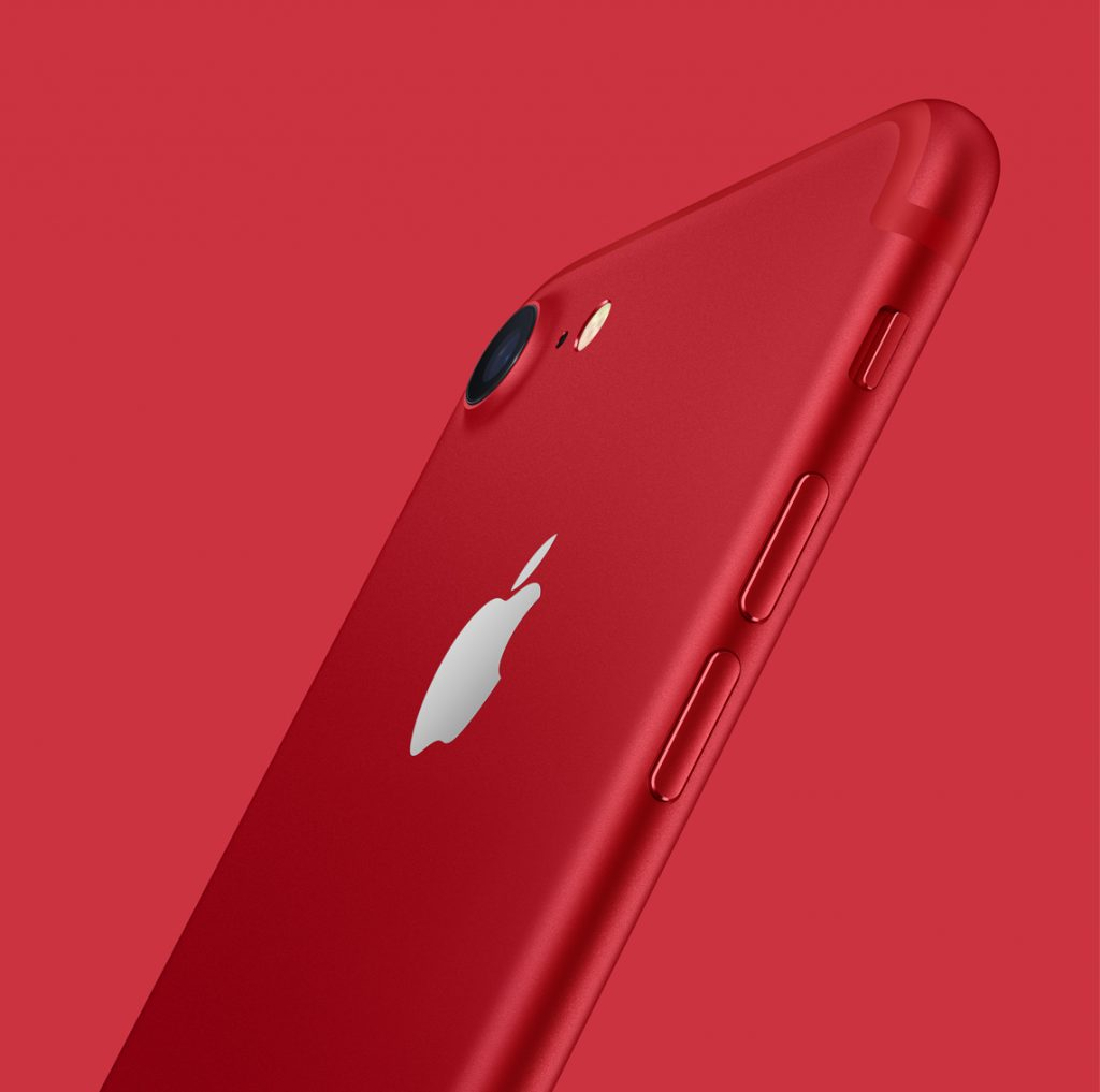 iPhone-7-Product-Red-background